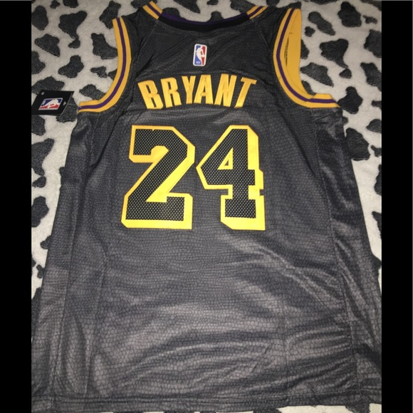 a77d51cf115 Lakers City edition black mamba jersey Kobe Bryant. NWT. Nike
